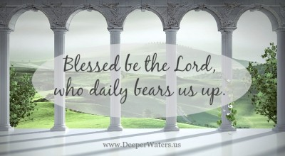 He Daily Bears Us Up