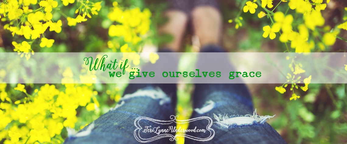 what if we give ourselves grace {10 ways to live well in today's world}