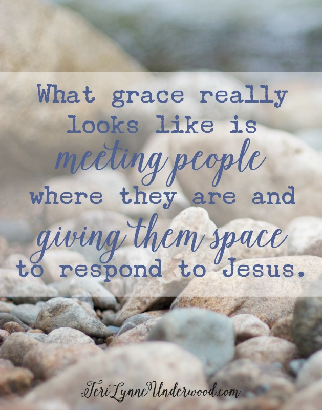 On Accusers and Adulterers ... what grace really looks like {Lessons from John 8:1-11}