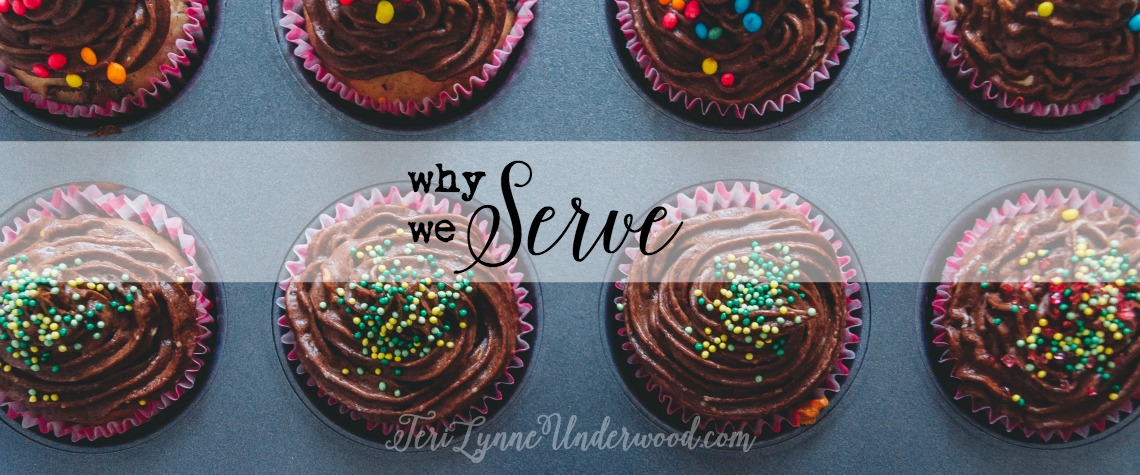 WHY we serve {STAND OUT: 7 traits of a counter cultural life — service}