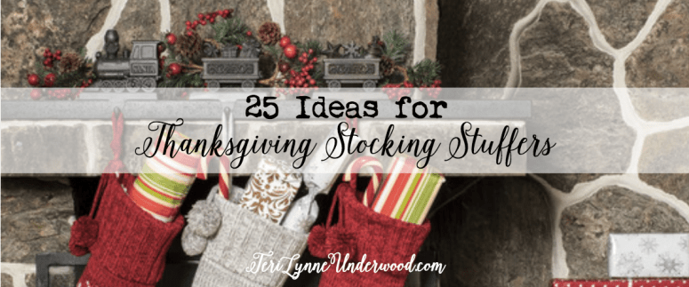 Do you give Thanksgiving stockings? Check out this great idea for kicking off the Christmas season!