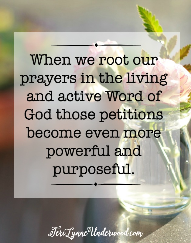 Praying Scripture is a powerful way to intercede for the people we love.
