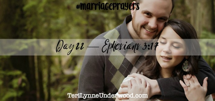 #MarriagePrayers    31 Verses to Pray for Your Marriage    Scott and Teri Lynne Underwood