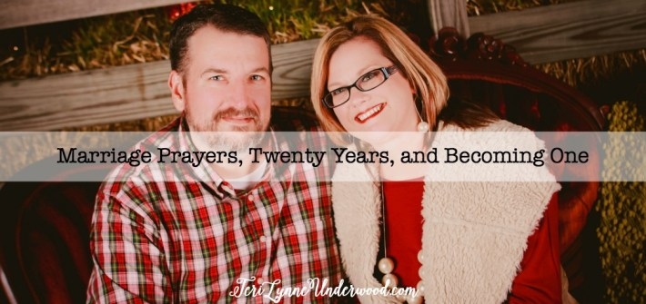 Marriage Prayers, Twenty Years, and Becoming One || reflections of 20 years of marriage