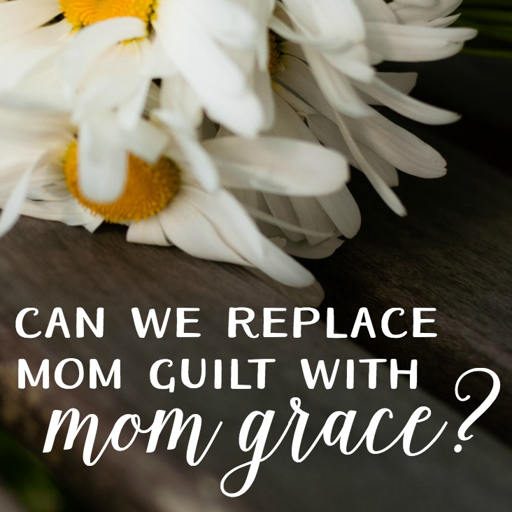 Can we quit with the comparing, competing, and blaming? Can we let the mom guilt go ... and choose instead mom grace. You know, where we give each other kindness and the benefit of the doubt.