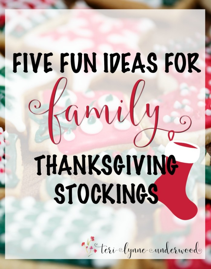 Thanksgiving stockings are such a fun tradition! Here are 5 fun ideas for making a family Thanksgiving stocking.
