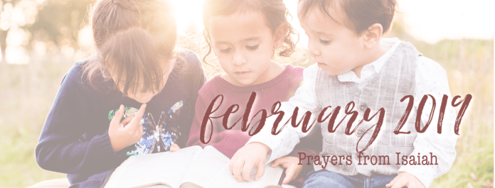 Join thousands of moms praying Scripture every day for their daughters! Get your Scripture-based prayer calendar for February now!