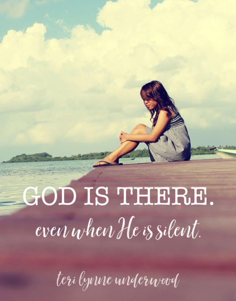 On Holy Saturday, Silent Saturday, we remember this truth — God IS there. Even when He is silent.