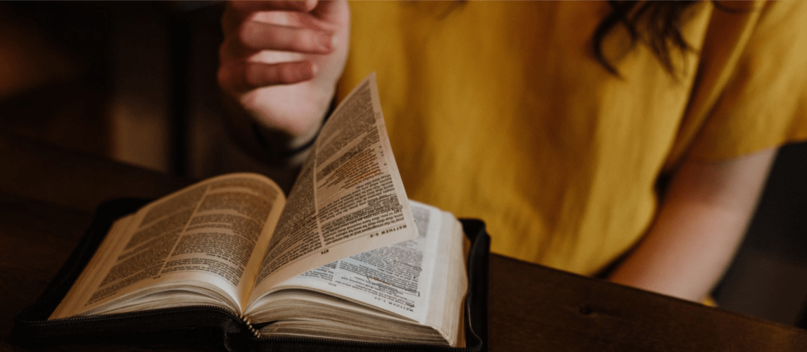 What do I REALLY need for Bible study? The answer might surprise you. The one thing you MUST have and a few other tools and resources that can help.