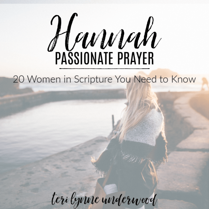 Hannah: Passionate Prayer || 20 Women in Scripture You Need to Know  Hannah's passionate prayer for a child was rooted in her firm belief in God's sovereignty and goodness. As we pray, it is vital that we submit ourselves to the will of God, that we are willing to trust His goodness regardless of His answer.