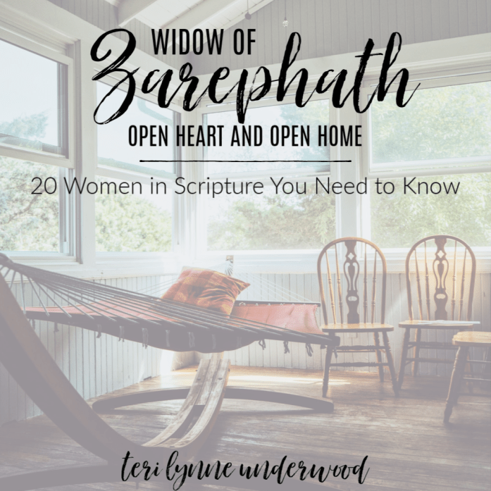 Widow of Zarephath: Open Heart and Open Home || 20 Women in Scripture You Need to Know  As we trust Him in the smaller things, He will also challenge us to trust Him with the biggest things in our lives.  He will meet us in our places of anguish and doubt and, out of HIs great love for us, give us the faith we need to continue walking in Him.
