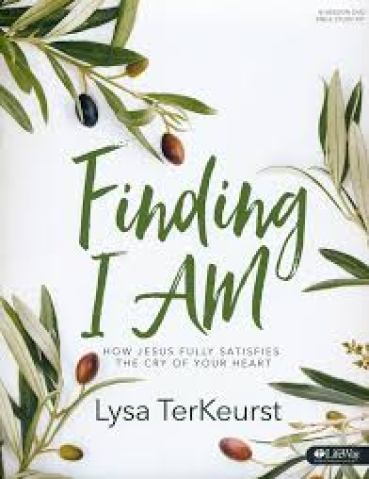Finding I Am by Lysa TerKeurst is one of my favorite Bible studies.  Digging into the I Am statements of Christ is such a great way to grow in understanding of who He is and what that means to us.