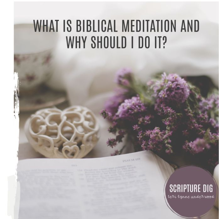 Not sure what biblical meditation is or if you should be practicing it? Join Scripture DIg in May as we discover 20 ways to linger in God's Word.
