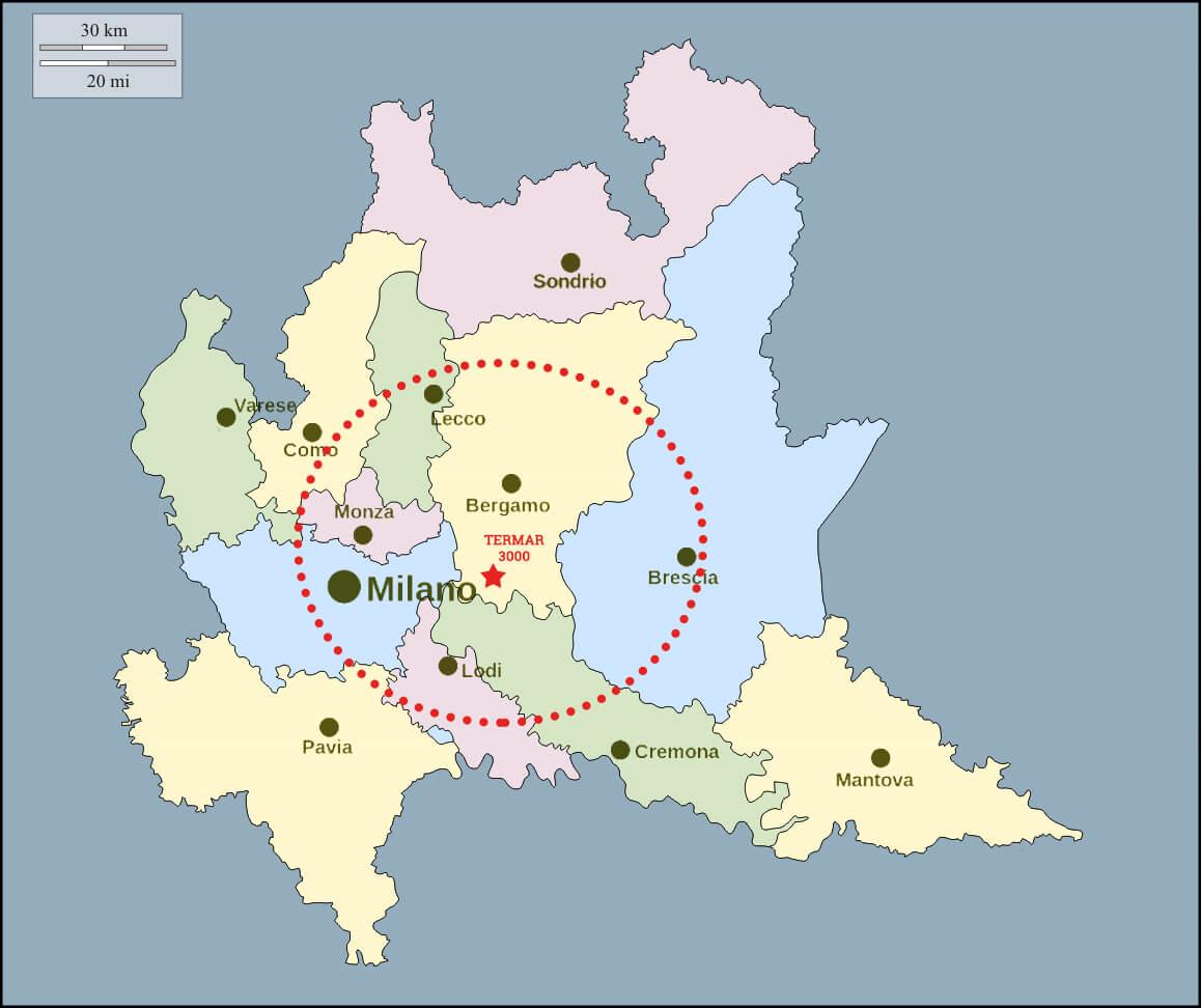 mappa Termar 3000