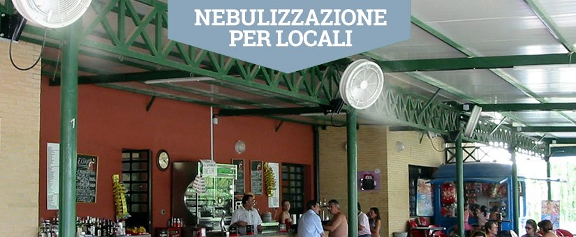 Nebulizzatori Acqua per locali