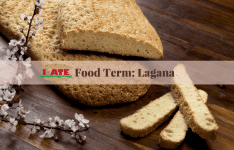 I·ATE Food Term: Lagana bread