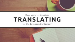 EU Institutions – New opportunities for translators
