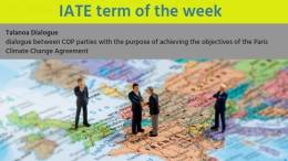 IATE Term of the Week: Talanoa Dialogue