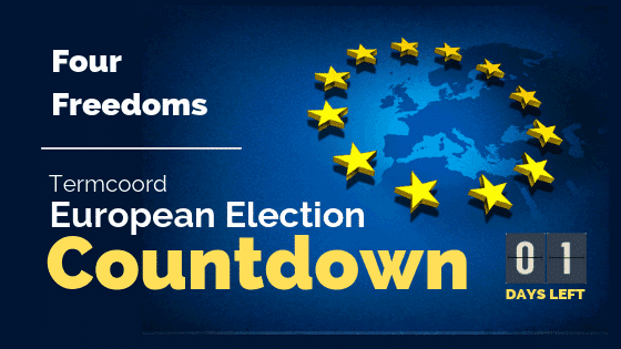 Termcoord European Election Countdown: Four Freedoms