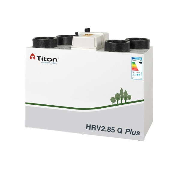 Rekuperatorius TITON HRV2.85 Q Plus BC Eco dešininis • Termomisija.lt Oro kondicionieriai, šilumos siurbliai. Montavimas, prekyba, priežiūra
