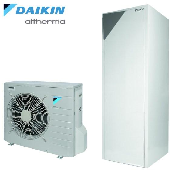 Daikin Altherma 2 ERLQ004CV3/EHVH04S18CB3V 5,12kw, 180l. integruota talpa, 220V  • Termomisija.lt Oro kondicionieriai, šilumos siurbliai. Montavimas, prekyba, priežiūra