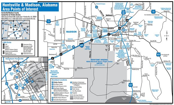 2013 Car Audio Championship Maps and Attractions
