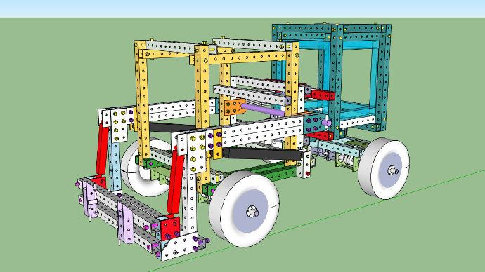 Visuel en 3D d'un plan de tracteur à télécharger gratuitement disponible sur Internet