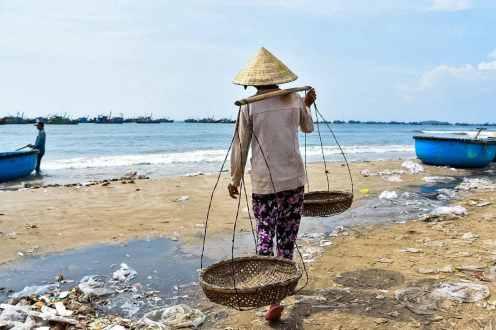 Miriam Ferrarin, Tra pesce e plastica