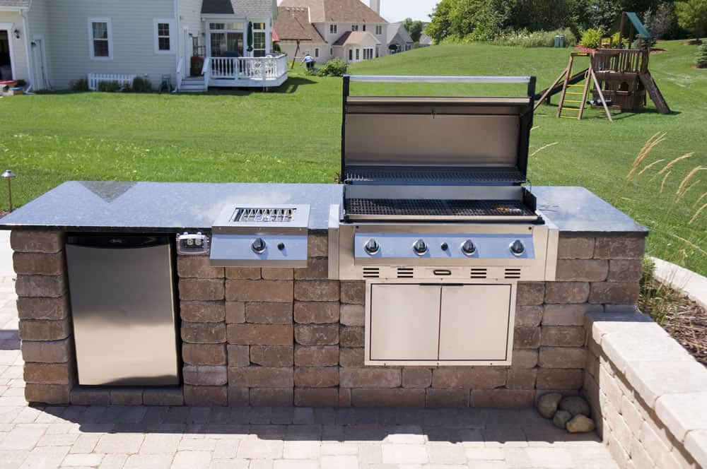Outdoor Kitchens | Built-in GrillsMuskego, WI on Built In Grill Backyard id=54460
