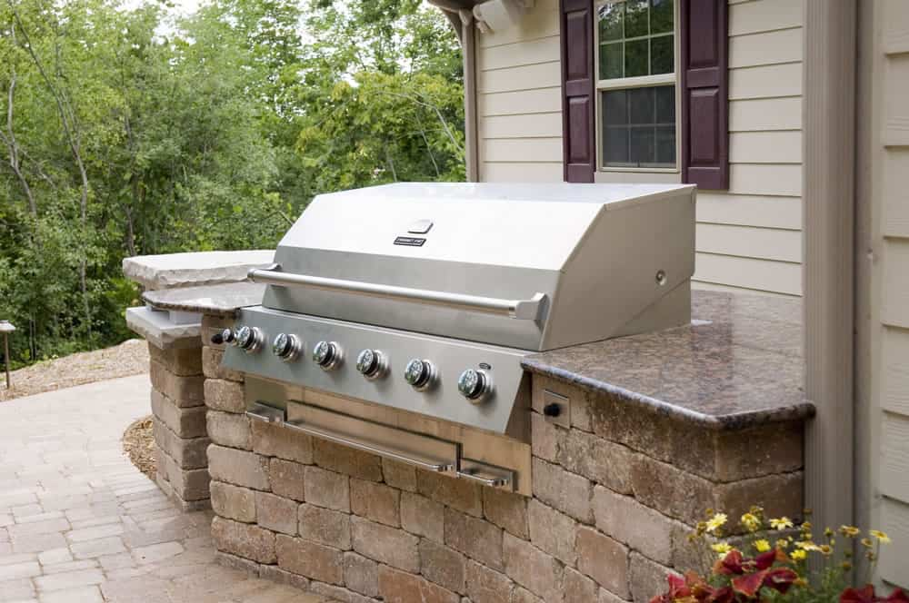 Outdoor Kitchens | Built-in GrillsMuskego, WI on Built In Grill Backyard id=94200