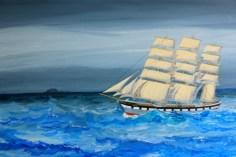 Águas agitadas do Cabo de Hornos, Museu Marítimo
