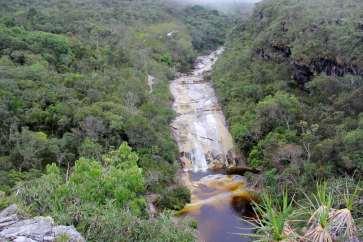 A linda Cachoeira dos Macacos