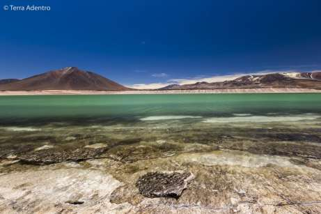 A Laguna Verde é surreal