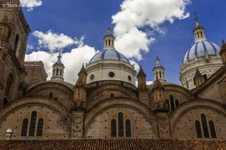 Torres da nova Catedral de Cuenca