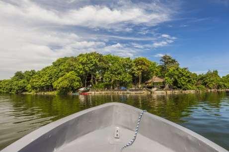 Ao todo, existem 365 ilhas no Lago Nicarágua