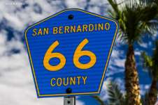 Bem na altura da cidade de San Bernardino