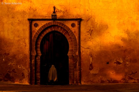 Portal da Medina de Rabat.