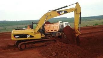 escavação e terraplenagem