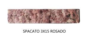 Spacato 3x15 Rosado Pieza unitaria