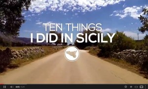 then things i did in sicily