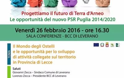 Il mondo degli ostelli e le opportunità per lo sviluppo  di attività collegate sul territorio in Provincia di Lecce
