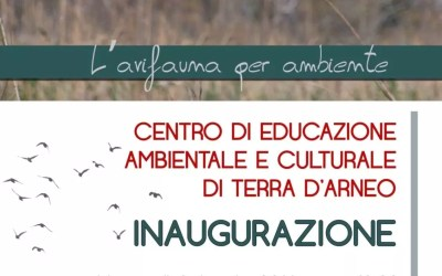 Inaugurazione Centro Educazione Ambientale di Terra d'Arneo