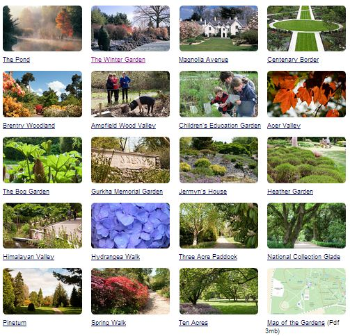 Hillier Gardens Hampshire