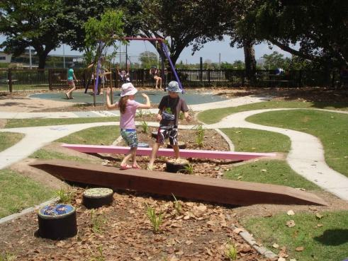 "Tropical Townsville 'All Abilities Playground"" at Riverway"
