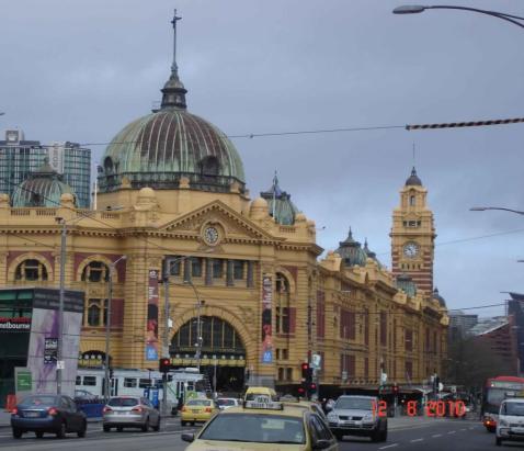 Flinders Street Station Melbourne City