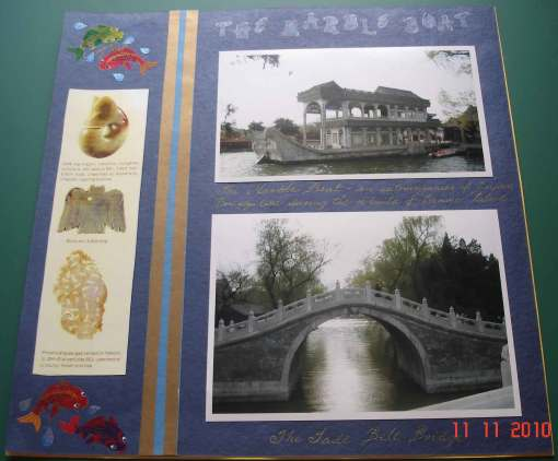 The-Summer-Palace-Beijing-China - scrapbook design page