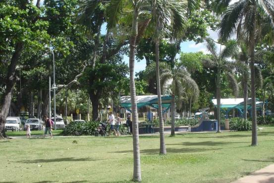 The-Strand-Shaded-Barbeque-areas for family events Townsville