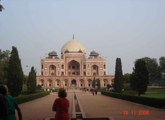 Delhi City Humayun's-Tomb.Incredible India
