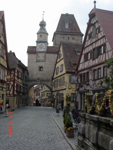 Medieval-City-of-Rothenburg quaint and picturesque city on the Romantic Road