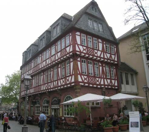 Wertheim House, a traditional old timber-framed building